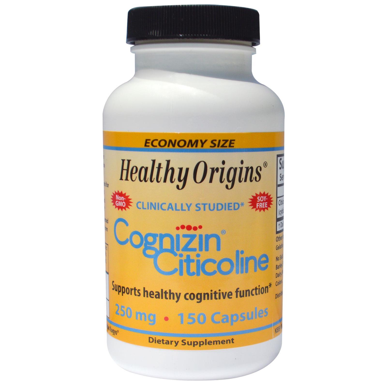 Healthy Origins Cognizin Review
