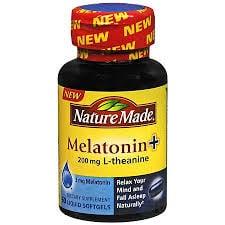 Nature Made Melatonin + 200mg L-theanine Review