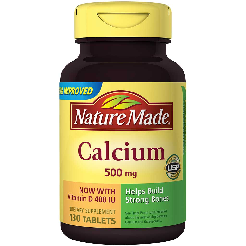 Calcium 500 mg with Vitamin D Review
