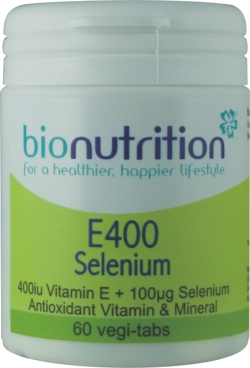 Bionutrition E400 Selenium Review