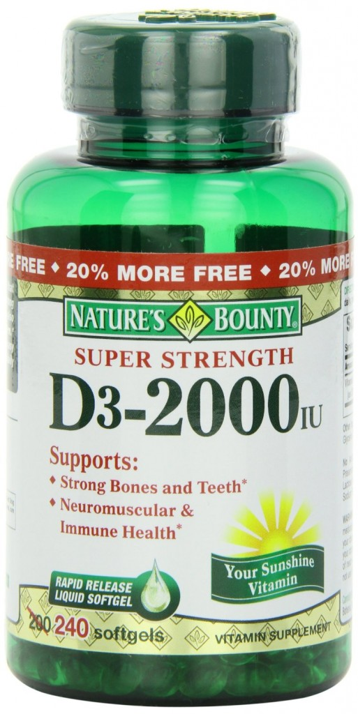 Nature's Bounty Vitamin D3 Review