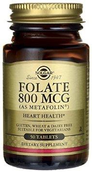 Solgar Folate 800 mcg Review