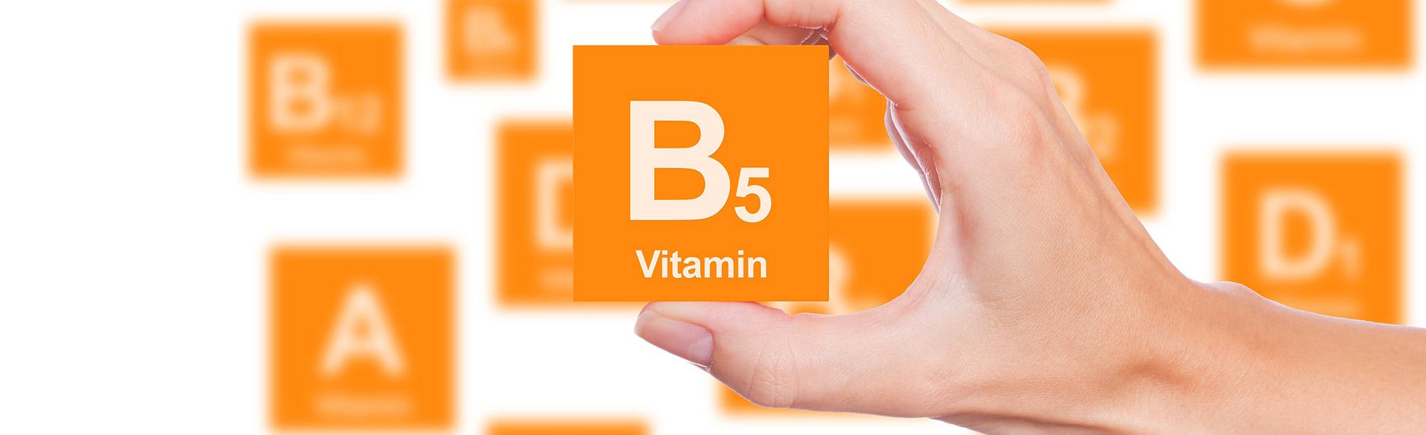 The Amazing Benefits of Vitamin B5 (Pantothenic acid)