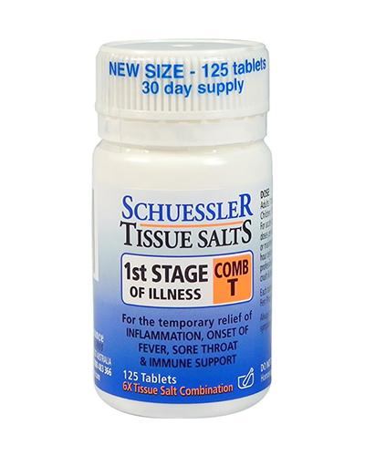 Schuessler Tissue Salts First Stage Illness