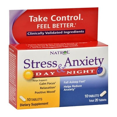 5-HTP Stress and Anxiety Day and Night Formula Review