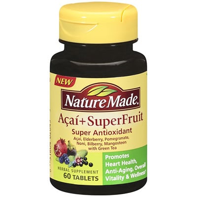 Nature Made Acai + SuperFruit Review