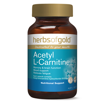 Herbs of Gold Acetyl L-Carnitine Review