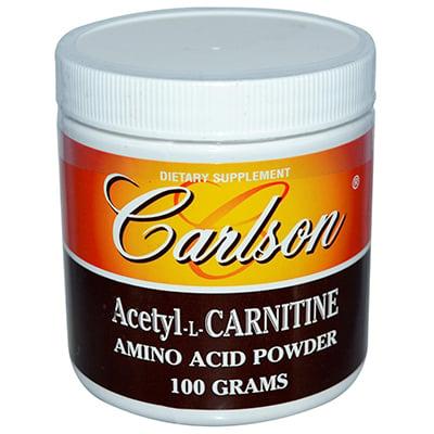 Carlson Laboratories Acetyl L-Carnitine Powder Review
