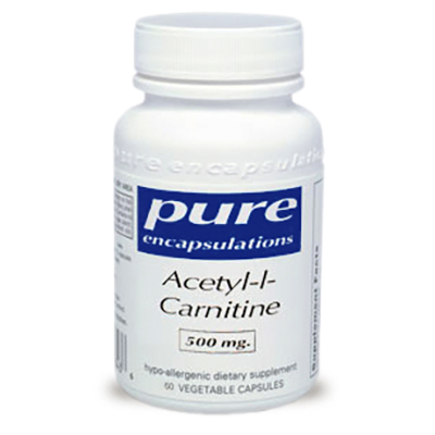 Pure Encapsulations Acetyl-l-Carnitine Review