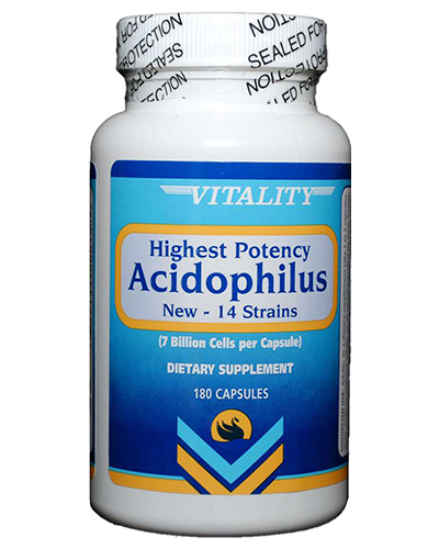 Vitality Products Acidophilus 7 Billion Cells Review