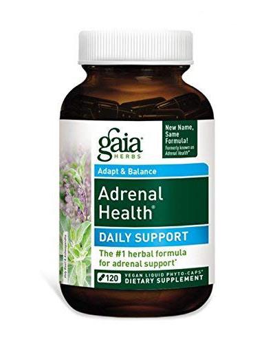 Gaia Herbs Adrenal Health Review