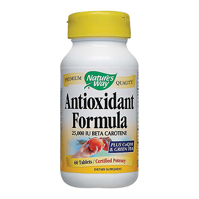 Nature's Way Antioxidant Formula Review