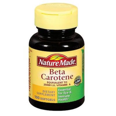 Nature Made Beta Carotene Review