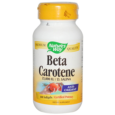 Nature's Way Beta Carotene Review
