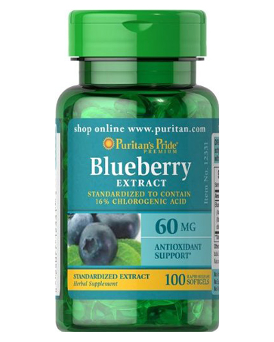 Puritan's Pride Blueberry Leaf Extract