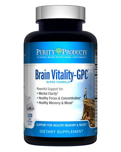 Purity Products Brain Vitality GPC Review