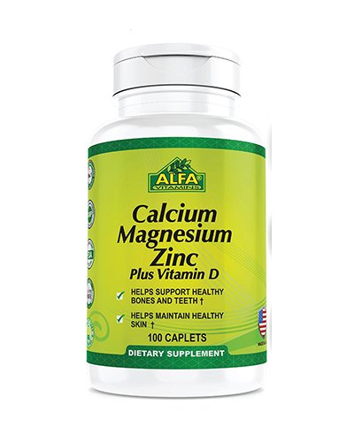 Alfa Vitamins Calcium Magnesium Zinc Review