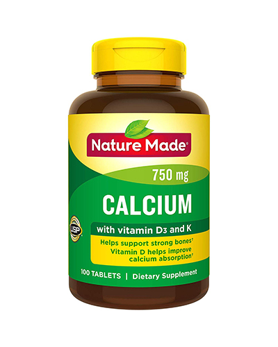 Calcium with Vitamins D and K
