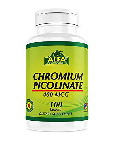 Alfa Vitamins Chromium Picolinate Review