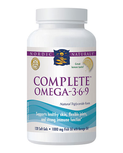 Nordic Naturals Complete Omega-3.6.9 Review