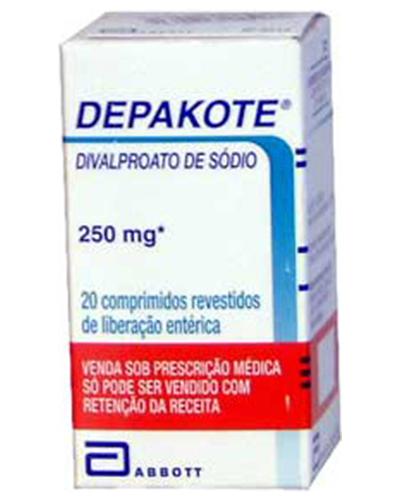 Divalproex Sodium or Depakote