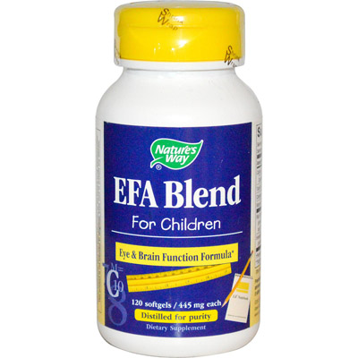 Nature's Way EFA Blend for Children Review