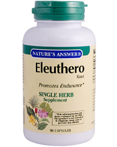 Nature's Answer Eleuthero Root Review