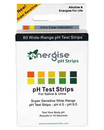 Energise pH Strips Review