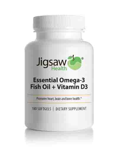 Jigsaw Essential Omega-3 Fish Oil + Vitamin D3 Review