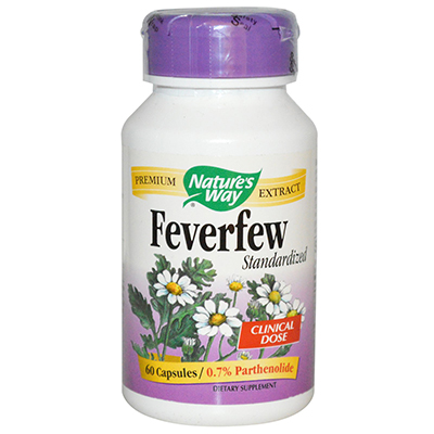 Nature's Way Feverfew Standardized Review