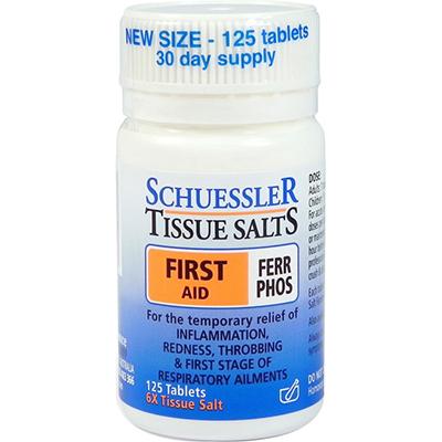 Schuessler Tissue Salts First Aid