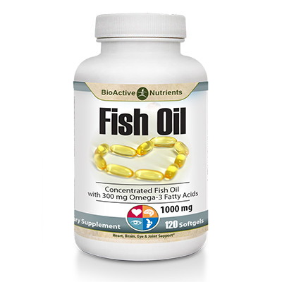 BioActive Nutrients Fish Oil Review