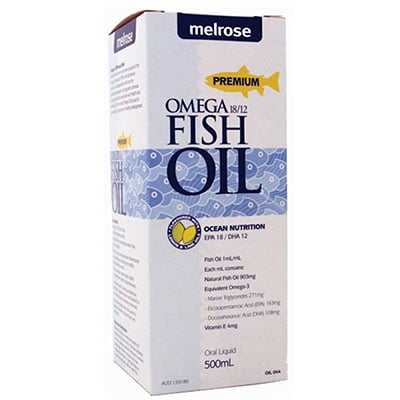 Melrose Omega 18/12 Fish Oil Review