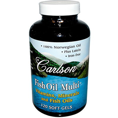 Carlson Labs Fish Oil Multi Review