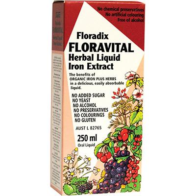 Floradix - Floravital Herbal Liquid Iron Extract Review