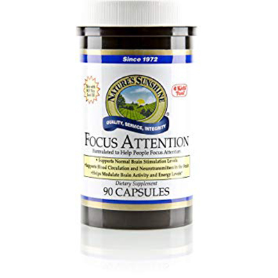 Nature's Sunshine Focus Attention Review