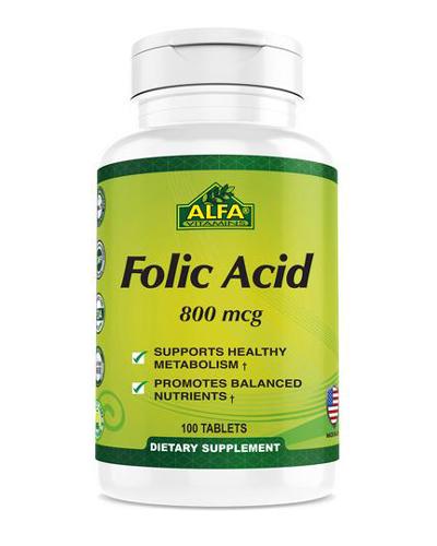Alfa Vitamins Folic Acid Review