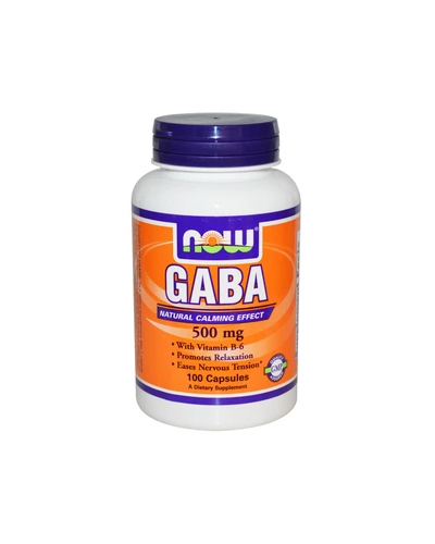 Now Foods Gaba 500 mg Review