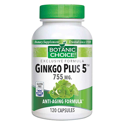 Botanic Choice Ginkgo Plus 5 Review