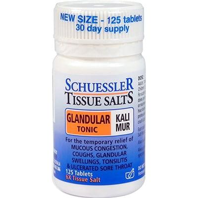 Schuessler Tissue Salts Glandular Tonic