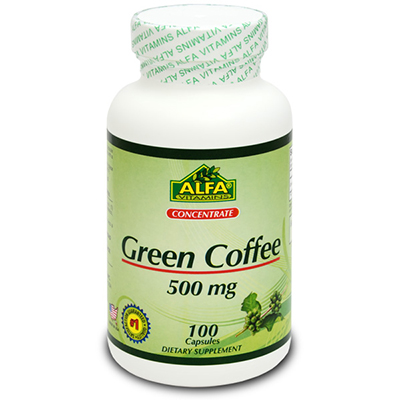 Alfa Vitamins Green Coffee Review