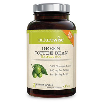 Nature Wise Green Coffee Bean Extract 800