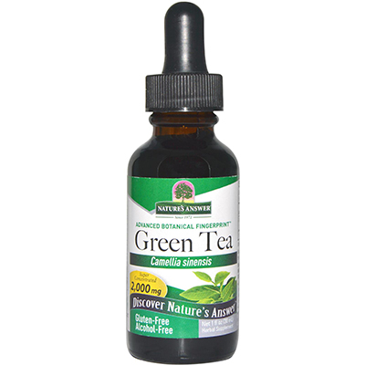 Nature's Answer Green Tea Leaf Review