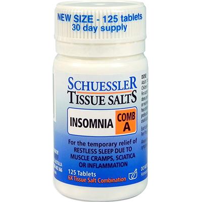 Schessler Tissue Salts Insomnia
