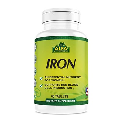 Alfa Vitamins Iron Review