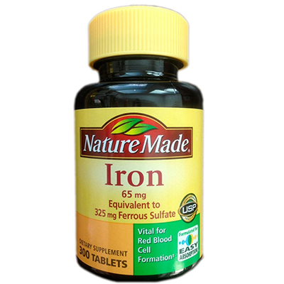 Nature Made Iron Review