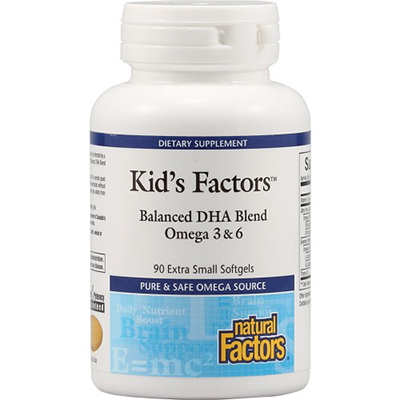 Kid's Factors Balanced DHA Blend Review