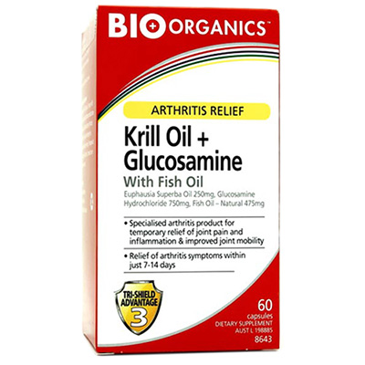 Krill Oil + Glucosamine with Fish Oil Review