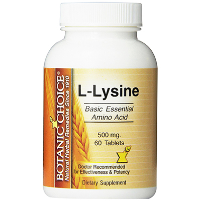 Botanic Choice L-Lysine Review
