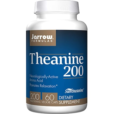 Jarrow Formulas Theanine 200 Review